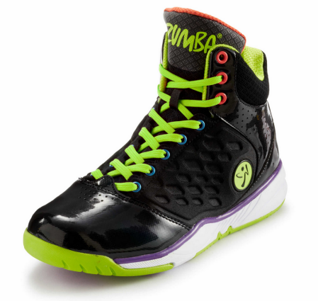 Zumba Fitness Energy Push High Top for Men (Black) - 02