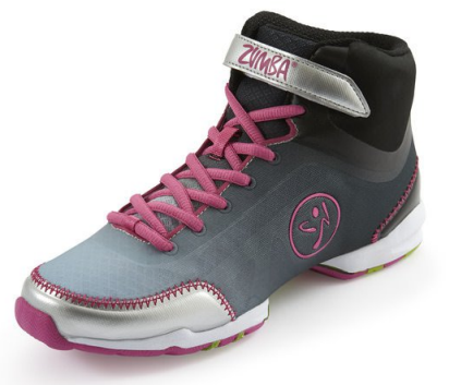 Zumba Fitness Flex Classic High Top Shoes 01